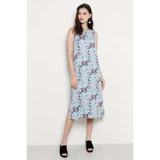 Shop Sassydream Tara Dress Mint Floral
