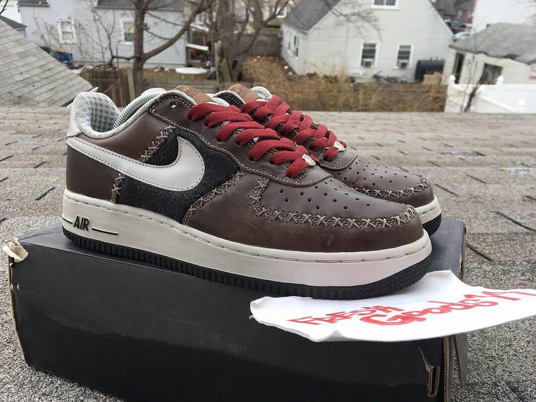 2004 Nike Air Force 1 ICE CUBE 307109 113 VNDS 10 wmns supreme bape cojp yeezy
