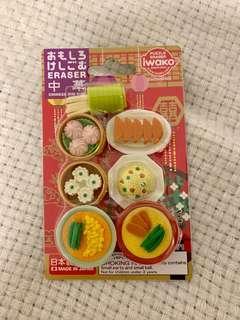 🚚 Iwaki Erasers Japanese
