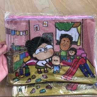 🔅免費送出 馬仔 x Dr.Kong 防水膠質小袋