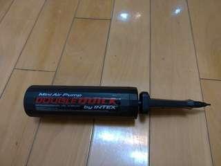 Mini air pump Double quick by INTEX 汽球 充氣泵 打氣筒