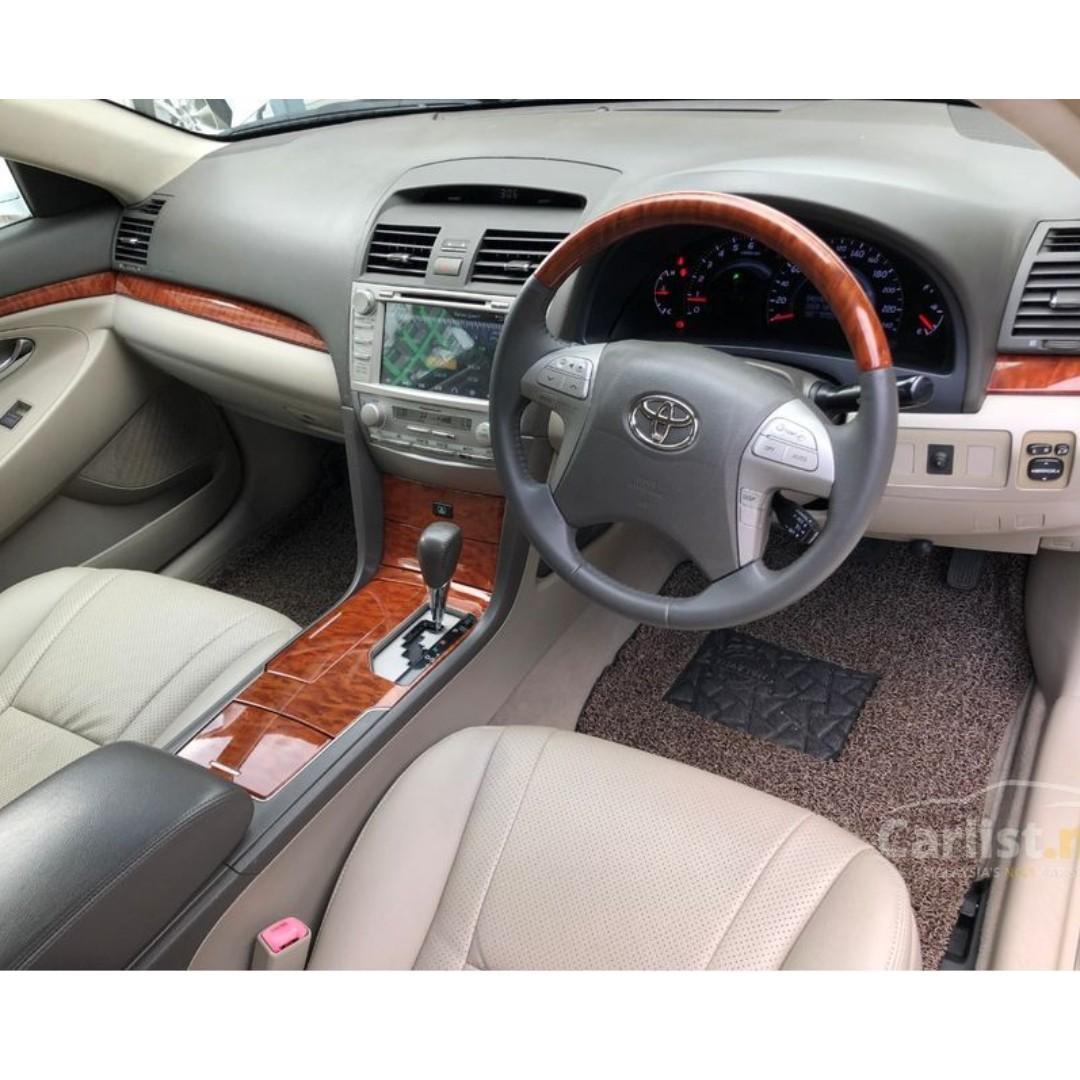 2010 Toyota Camry 2.4 V (A) Facelift Model Push Start DVD Player Reverse Camera