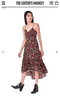 TEM The Editor's Market Caia midi dress floral print