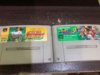 Super Tennis and Baseball games for selling