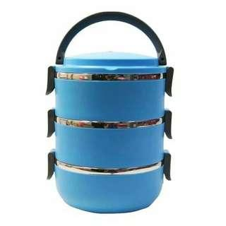 Rantang Susun 3 stainlees / Lunch box