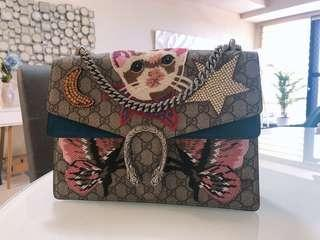 Authentic gucci dionysus medium bag