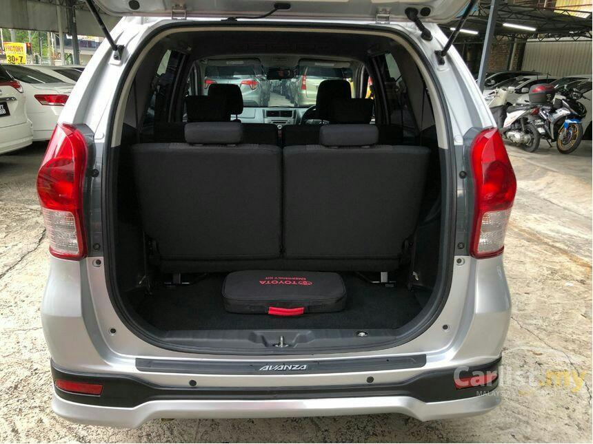 2014 Toyota Avanza 1.5 G (A) One Owner TRD Bodykit