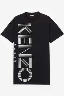 Kenzo Logo Tshirt Dress