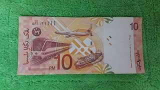 Currency rm10 nicely number