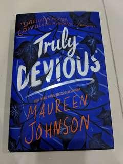 🚚 Truly devious by maureen johnson (hardcover)