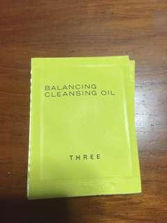 Three balancing cleansing oil sachets #endgameyourexcess