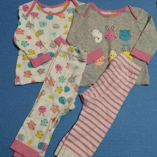 Mothercare baby clothes set