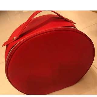 Lancôme 專櫃化妝品贈品-手提袋可做化妝袋兩用