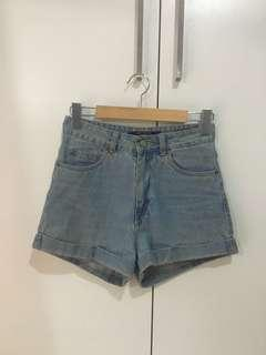 Factorie high waisted denim shorts 10