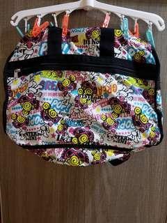 hysteric mini bag 黑超b旅行袋95%new