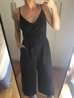 Sportsgirl black formal culotte jumpsuit 10