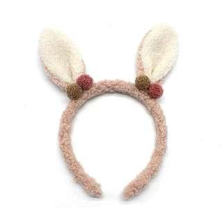 Bunny ear cute hair band Korea bendable