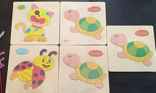 Early learning Wooden Puzzle