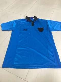 Umbro light blue polo
