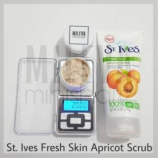 Beli 1 gratis 1 st ives fresh skin apricot scrub 20 gram