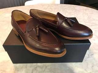 Dunhill Tassel Loafers - Shoes Dress Causal Brown Tan