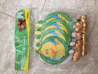 🚚 Sesame Street Birthday Party Blowouts #ENDGAMEyourEXCESS