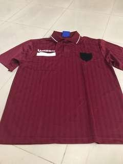 Umbro maroon polo