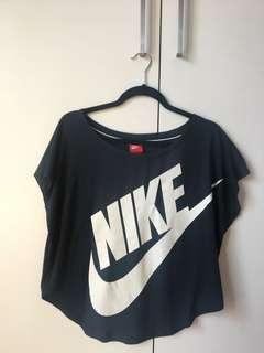 Nike navy swing top S