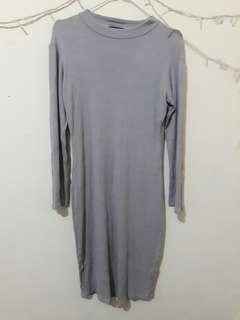 Midi dress knit Hardware
