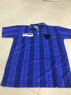Umbro blue polo