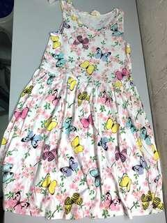 H&M dress with butterflies size140