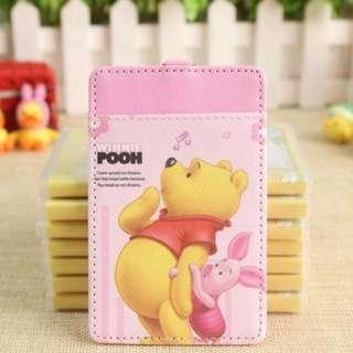Disney Winnie The Pooh & Piglet Ezlink Card Holder With Keyring