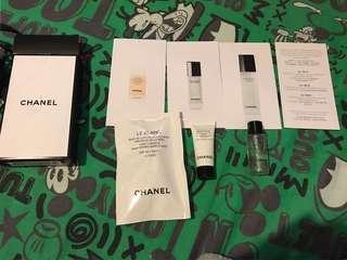 包郵Chanel 試用套裝(micro liquid,micro serum,spf40 makeup base)