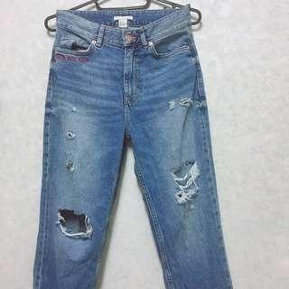 H&M牛仔褲