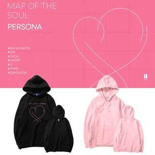 "[BTS017] BTS ""Map of the Soul: Persona"" Inspired Hoodie"