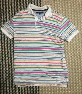 Tommy hilfiger color stripes polo tshirt s ck armani topman