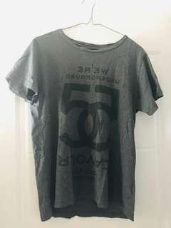 5 PREVIEW - 經典款灰色大LOGO Tee