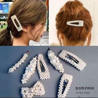 Jepit Mutiara / Pearl Hairpin