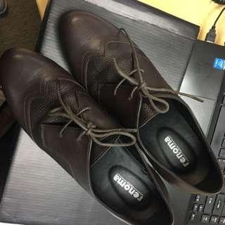 Renoma Leather Boot Heels