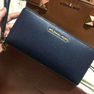 Authentic MK Leather Continental Wallet