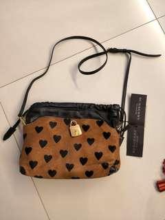 burberry burberrys little crush dark camel sling bag ladies bag