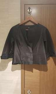 #Endgameyourexcess Gg5 black crop jacket