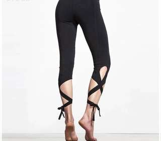 c16a1c38ec5 Ballet-Inspired Yoga Pants Tights Leggings