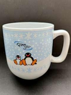 九成新正貨绝版Pingu杯
