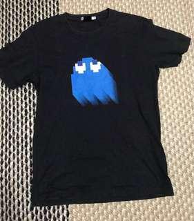 uniqlo pac man 30th anniversary tshirt m
