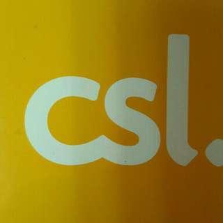 25gb Data SIM Hong Kong 4G LTE  Csl network