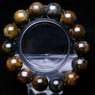 Natural Pietersite Bracelet 15mm
