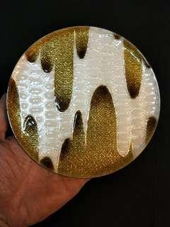 🚚 日本銅胎琺瑯彩盤