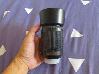 Nikon 55-200mm f/4-5.6 manual focus only