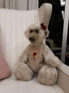 Handmade Artist Bear (height 38cm)